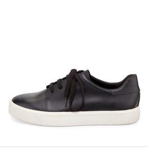 Women's Vince Bale Leather Low-Top Sneaker sz 8